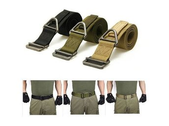 Adjustable Nylon Outdoor Heavy Duty Combat Belts Men's Army Military Tactical Be