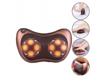 8 enheter Shiatsu Massager Body Massage Pillow Kudde Hals Knead Back Lumbar