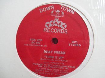"12"" maxi: BEAT FREAX Turn it Up"