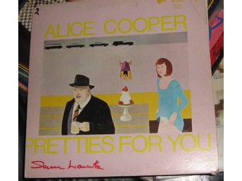 "Alice Cooper LP ""Pretties for you"