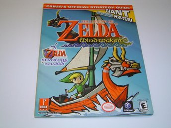 The Legend of Zelda Windwaker Wind Waker Spelguide Guide Bok *NYTT*
