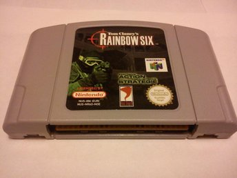 N64: Tom Clancy's Rainbow Six (Endast kassett - OBS Tysk!)