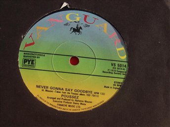 "POUSSEZ - NEVER GONNA SAY GOODBYE 7"" 1979"