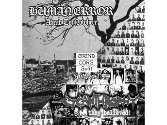 Human Error -Split w Lycanthrophy RARE JAPAN CD Crust grind