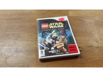 LEGO STAR WARS THE COMPLETE SAGA BEG WII
