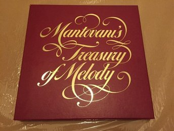 Mantovani: Tresury of melody. 8 LP + Bonusskiva.
