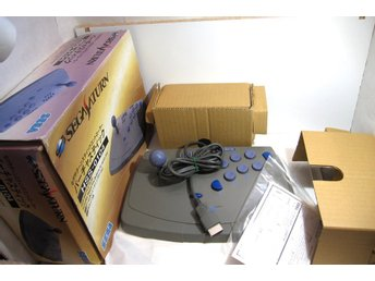 Virtua Stick till Sega Saturn, i box.HSS-0104  Fighting stick.