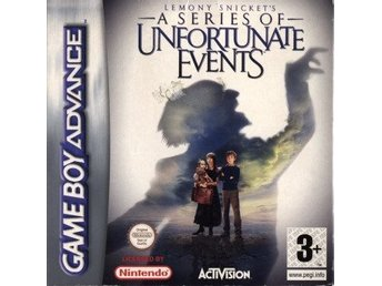 GBA - Lemony Snicket's A Series of Unfortunate Events (Komplett) (Beg)