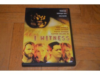 I Witness ( Jeff Daniels James Spader ) - 2003 - DVD