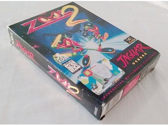 Atari Jaguar Zool 2 Box