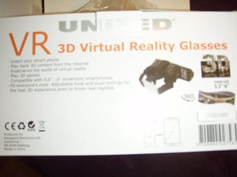 3D VR Glasögon Virtual reality glasses till 3Dspel på mobilen m.m.