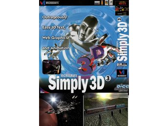 Micrografx Simply3D 3 - ett 3D animations program  till PC <----