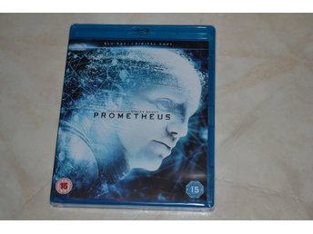 Prometheus (2012) Film Bluray Nyskick