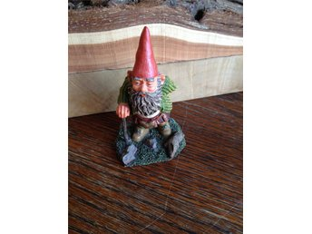 Gnomes Rien Poortvliet original, made in Holland.Trolltyg i tomteskogen. Scott!