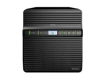 Synology DS418j DiskStation, 4-bay, Realtek quad-core 1,4 GHz CPU, 1GB RAM