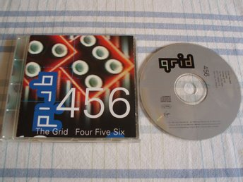 The Grid ‎– Four Five Six, Virgin ‎– CDV 2696, Made EU 1992