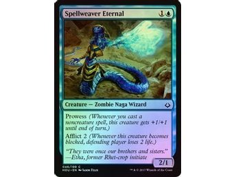 MtG Foil Spellweaver Eternal, Hour of Devastation