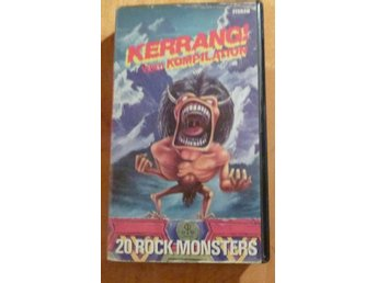 KERRANG VIDEO KOMPILATION RARE VHS