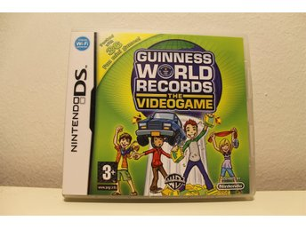 Nintendo DS GUINNESS WORLD RECORDS the videogame