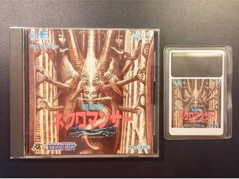 Jaseikin Necromancer till PC-Engine HU-Card