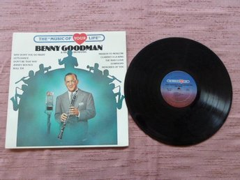 BENNY GOODMAN & HIS ORCHESTRA VOL. 6,  LP-SKIVA