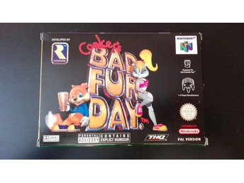 Conker's Bad Fur Day ( PAL ) CB
