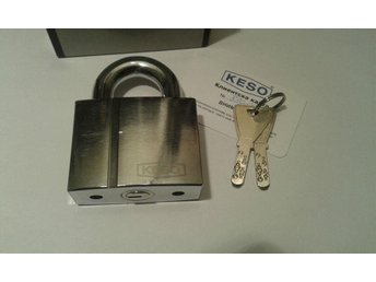 Hänglås KESO (ASSA ABLOY) 22.044.High Security Keying Platform 2000S With 2 Keys