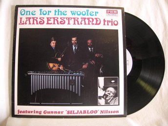 Lars Erstrand Trio   -   One for the woofer       Lp