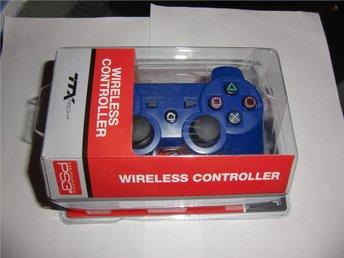 PS3 Wireless Controller 2.4 GHZ Blue TTX - Ystad - PS3 Wireless Controller 2.4 GHZ Blue TTX - Ystad