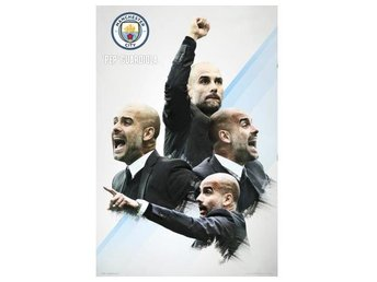 Manchester City Affisch Guardiola 30