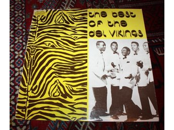 DEL VIKINGS Best Of.  US Doo Wop Classic 1958 Flat Tire LP