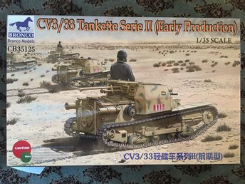 Bronco - CV3/33 tankette serie II (early prod) 1:35