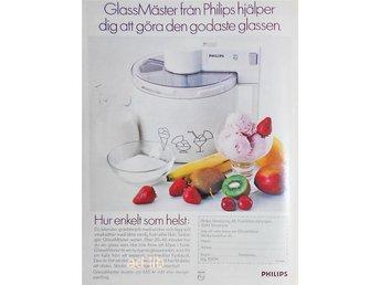 PHILIPS GLASS-MÄSTER, TIDNINGSANNONS 1989 - öckerö - PHILIPS GLASS-MÄSTER, TIDNINGSANNONS 1989 - öckerö