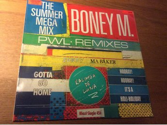 Boney M The summer mega mix 12""