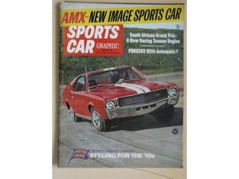Sports Car Graphic, March 1968