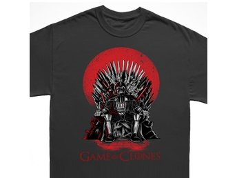Game of clones T-shirt- Star wars V Thrones tröja : SMALL