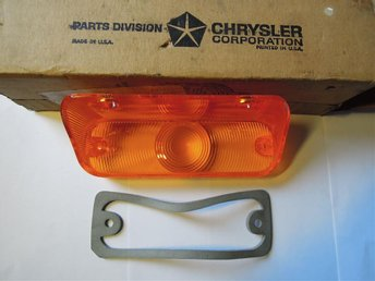 Mopar Blinkersglas Vänster 1968 Chrysler New Yorker & Newport