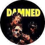 THE DAMNED (4,5 cm) Badge / Pin / Knapp (Punk, Sex Pistols, 1977, Stooges,)