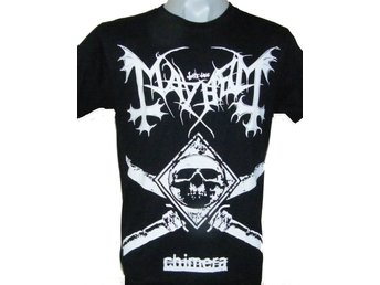 T-SHIRT: MAYHEM  (Size M)