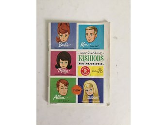 Barbie Mattel 1963 Katalog Booklet Book 3 Exclusive Fashions