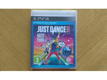 PlayStation 3/PS3: Just Dance 2018 (fabriksinplastat, på svenska)