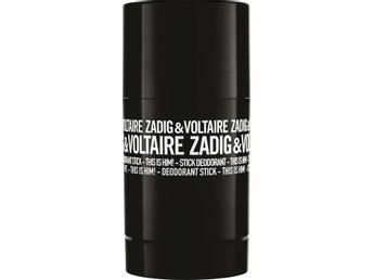 NYTT ZADIG & VOLTAIRE THIS IS HIM ! DEOSTICK 75 GRAM, UTROP 1 KR !!