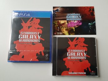 Stardust Galaxy Warriors + CD  - Strictly Limited Games #9 - PS4 NYTT