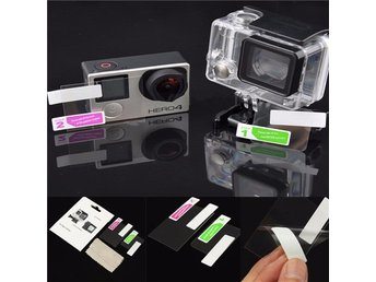 GoPro 4 LCD Screen Guard + Housing Lens Protector