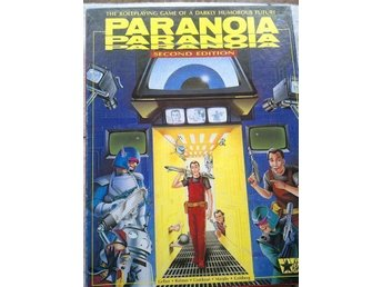 Paranoia RPG second edition (box set, West End Games, 12001)