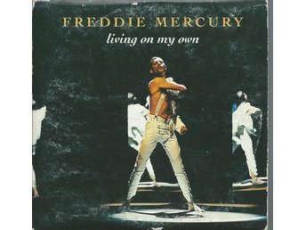FREDDIE MERCURY - LIVING ON MY OWN   ( CD MAXI/SINGLE )