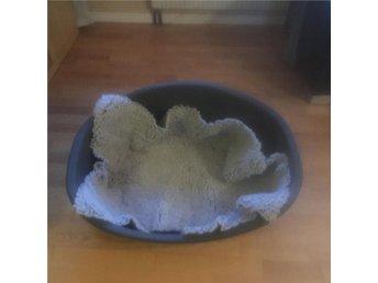 Hund sovsäng i plast med päls. Passar till stor hund. - Grillby - Hund sovsäng i plast med päls. Passar till stor hund. - Grillby