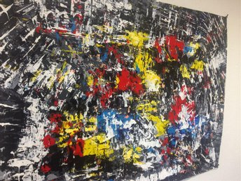 abstrakt målning akryl papper - Göteborg - abstrakt målning akryl papper - Göteborg
