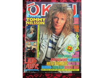 OKEJ 6-7/1989 Samantha Fox, Depeche, Nitzer Ebb, Electric Boys, Jerry, Madonna