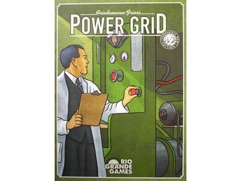 Power Grid (Engelsk version) - Brädspel - Varberg - Power Grid (Engelsk version) - Brädspel - Varberg